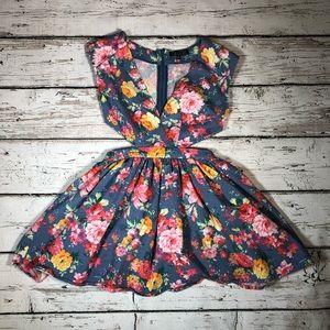 Love Culture Floral Dress Spring Summer